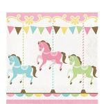 Carousel Napkins (Pack of 16)