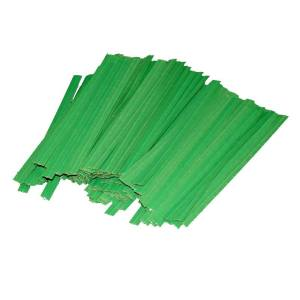Green Twist Ties 7cm (100 pieces)