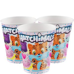 Hatchimals Paper Cups (8 pieces)