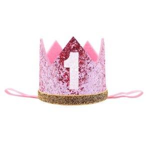 Pink/Gold Crown Number 1