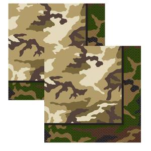 Military Napkins (Pack of 16)