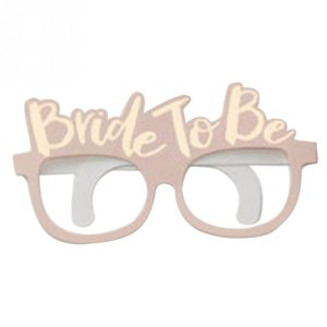 """Paper Glasses """"Bride To Be"""""""