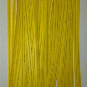 Yellow Twist Ties 7cm (100 pieces)