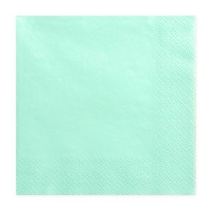 Mint Chic Napkins (Pack of 20)