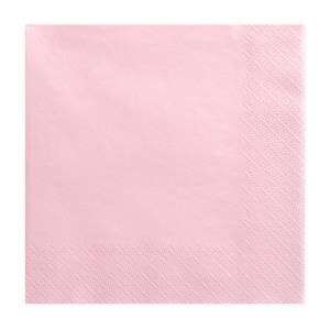 Pink Chic Napkins (Pack of 20)