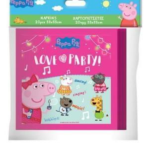 Peppa Pig Napkins (Pack of 20)