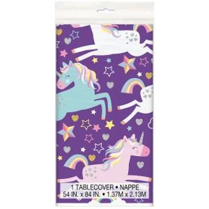 Magical Unicorn Table Cover (1.37m x 2.13m)