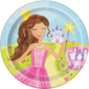 Magical Princess Plates 23cm (8 pieces)