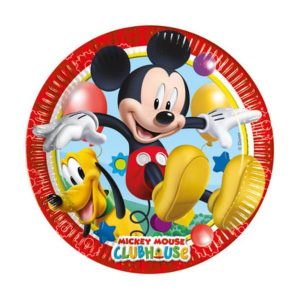 Mickey Mouse Clubhouse Plates 20cm (8 pieces)