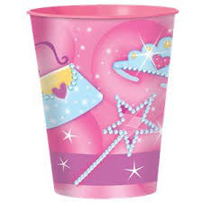 GIRLY Plastic Cup 455ml & Candies GIFT