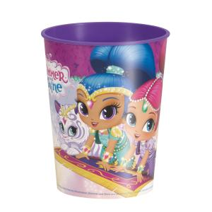 Shimmer And Shine Plastic Cup 455ml & Candies GIFT