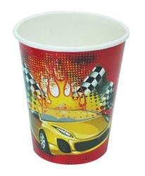 Racing Cars Cups (6 pieces)