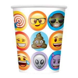 Emoji Cups (8 pieces)