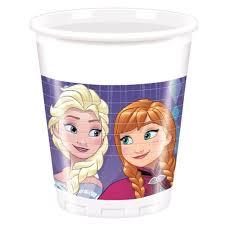 Frozen Plastic Cups (8 pieces) 200ml