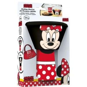 Minnie Mouse LUNCH SET 3PCS