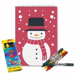 Red Snowman 10x14cm Christmas GIFT / LIMITED STOCK