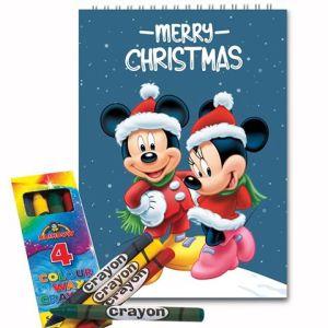 Mickey & Minnie 10x14cm Christmas GIFT / LIMITED STOCK