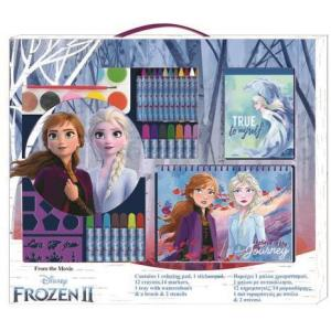 GIANT Frozen II Coloring Set (4-10 yrs)