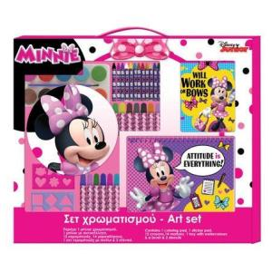 GIANT Minnie Mouse Coloring Set (4-10 yrs)