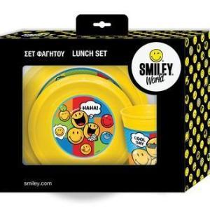 SMILEY LUNCH SET 3pcs
