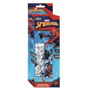 COLORING TOWER PUZZLE Spiderman