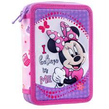 Minnie Mouse 3D Pencil Case 15x21x5cm