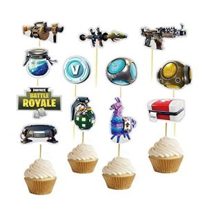 Fortnite Cupcake Toppers (pack of 24)