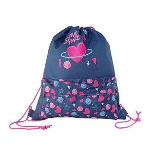 Must Drawstring Bag 33x39cm Love Space for Girl