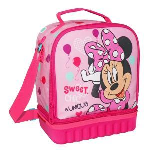 MINNIE MOUSE Isothermal Lunch Bag/Ισοθερμική τσάντα φαγητού 24x12x20cm