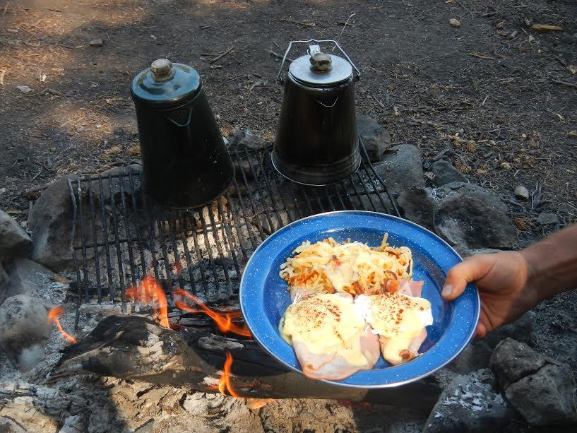 Breakfast - Ham and Eggs