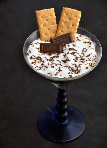 Recipe: S'mores in a Cup