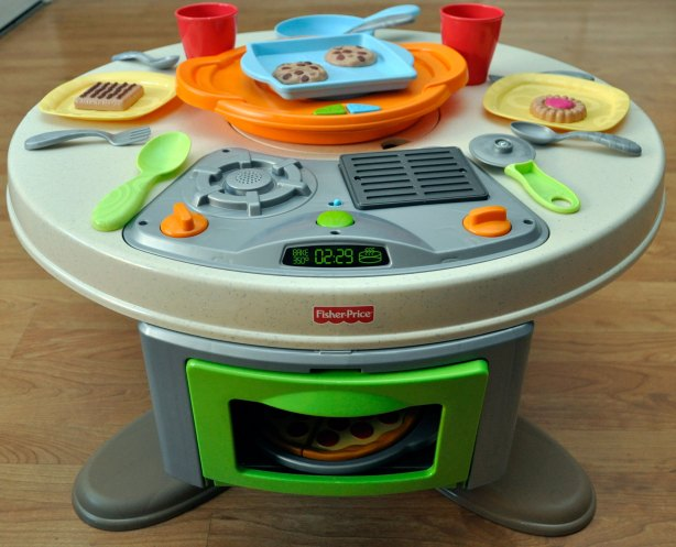 Holiday Gift Guide 2012 Fisher Price S Servin Surprises Kitchen Table