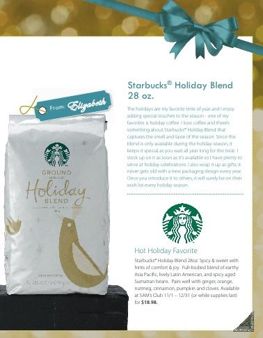 Starbucks Holiday Blend