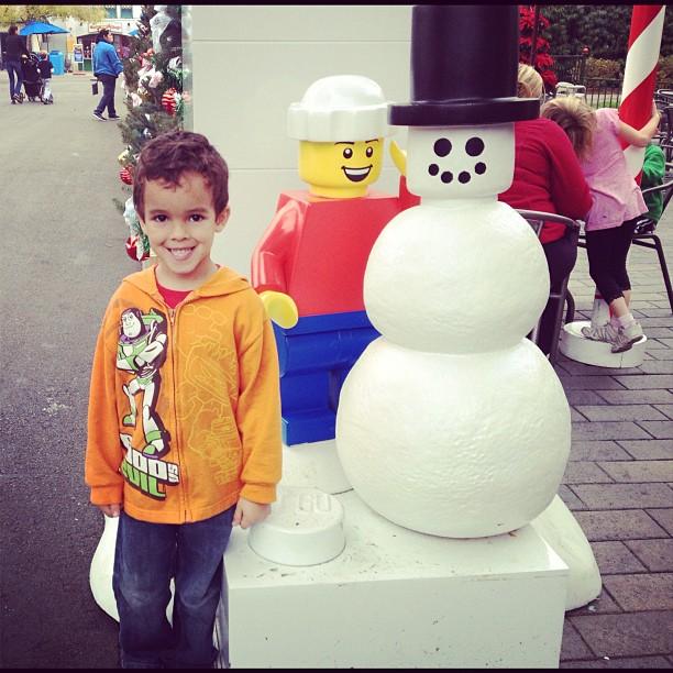 LEGO Snow Man