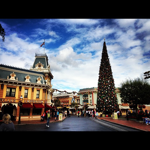 Main Street at Disneyland