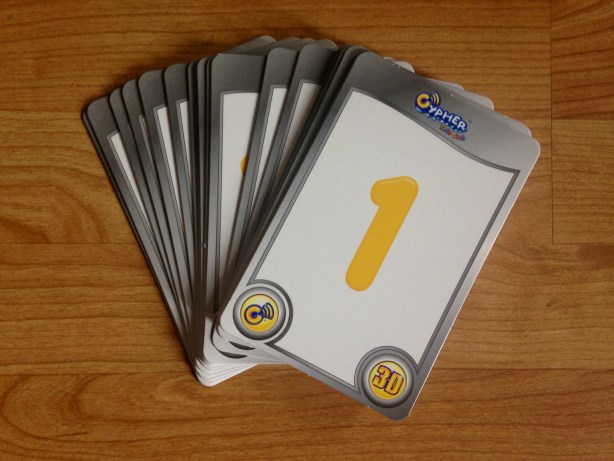 Cypher Kids Club Interactive Cards- Numbers