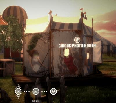 Circus Photo Booth