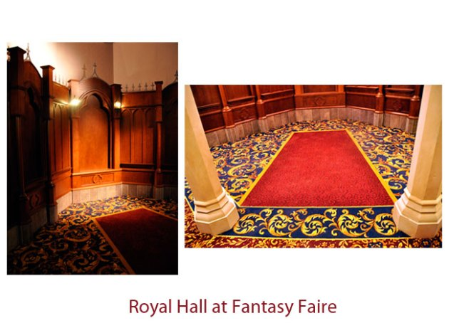 Royal Hall at Fantasy Faire