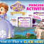 Sofia the First Printable Games and Activities