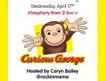 Curious George Twitter Party