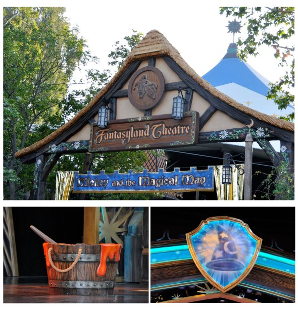 Fantasyland Theatre at Disneyland