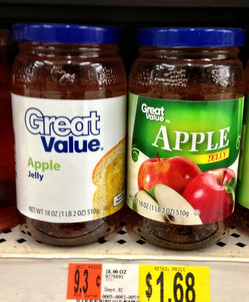 Great Value Apple Jelly
