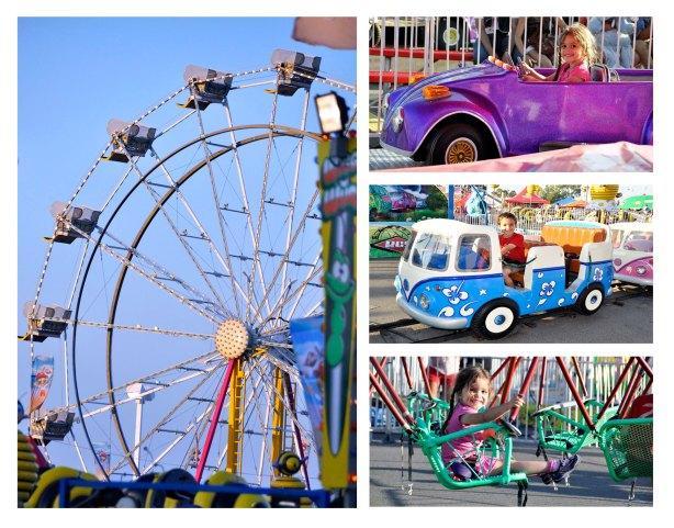 Carnival at the Orange County Fair