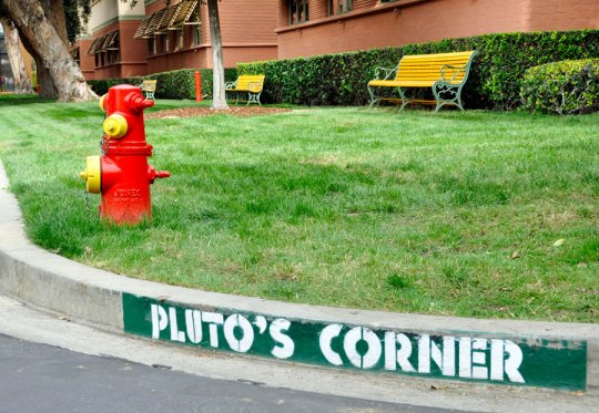 Pluto's Corner at Walt Disney Studios
