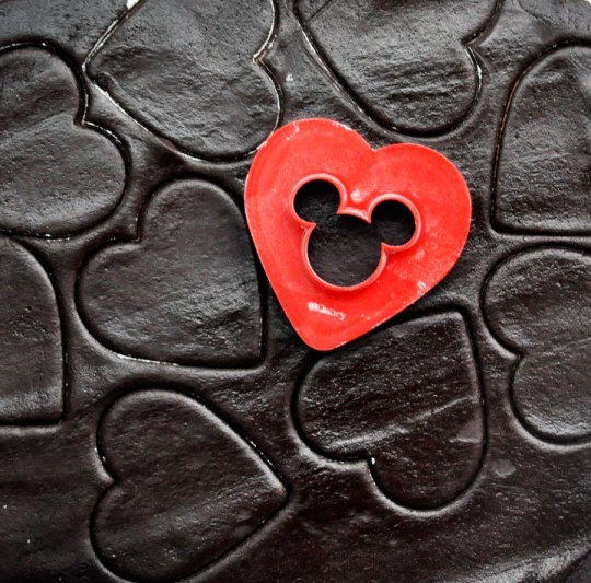 Heart-Shaped Mickey Cookie Cutter