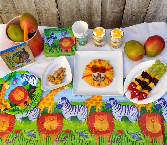 Jungle Book Party Recipes