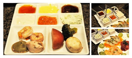 The Melting Pot Dishes