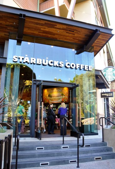 Starbucks Downtown Disney