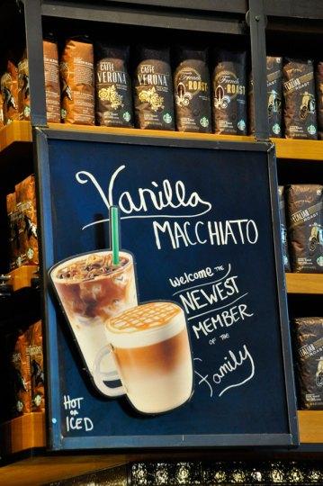 Vanilla Macchiato