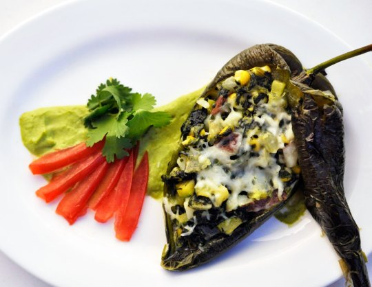 Vegetarian Chile Rellenos Recipe